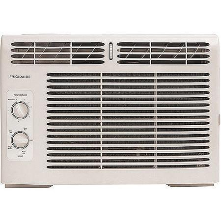 $100 Frigidaire FRA052XT7 5,000-BTU Low Profile Compact Mini Room Window Air Conditioner