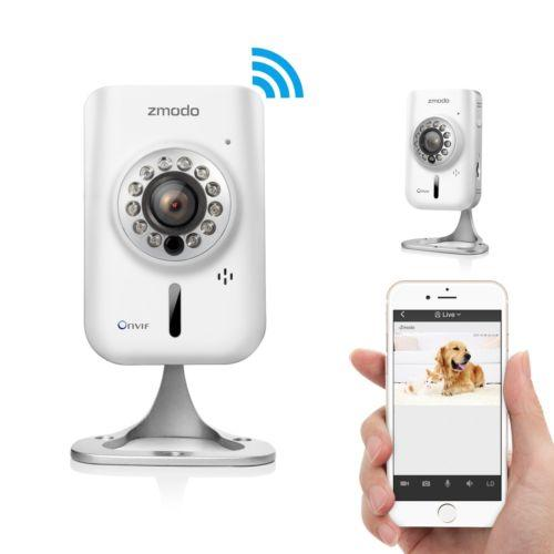 Zmodo Wireless 720p HD IP WiFi Network Home Video Security Camera Two-Way Audio