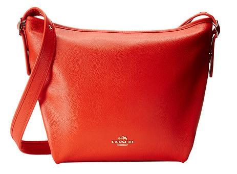 COACH 'Dufflette' Pebbled Leather Shoulder Bag @ Nordstrom.com