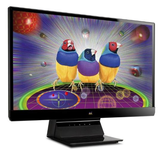 $119.99 ViewSonic VX2370SMH-LED 23-Inch SuperClear IPS LED Frameless Monitor