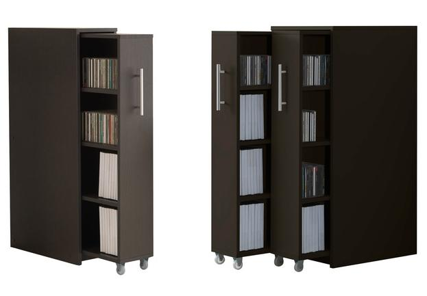 Lindo Bookcase with Pull-Out Doors
