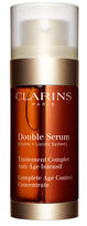 $87 + Free 10pc Gift + Free Shipping Clarins Double Serum Complete Age Control Concentrate 1oz
