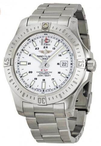Breitling Colt Automatic Stainless Steel Men's Watch BTA1738811-G791SS
