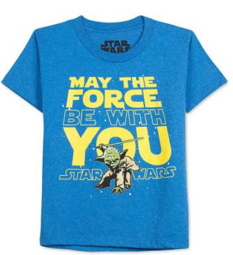 $7.99 Select Star Wars Boys' T-shirts @ macys.com