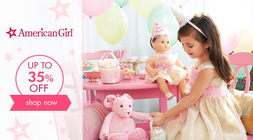 Up to 35% Off American Girl Sale @ Zulily