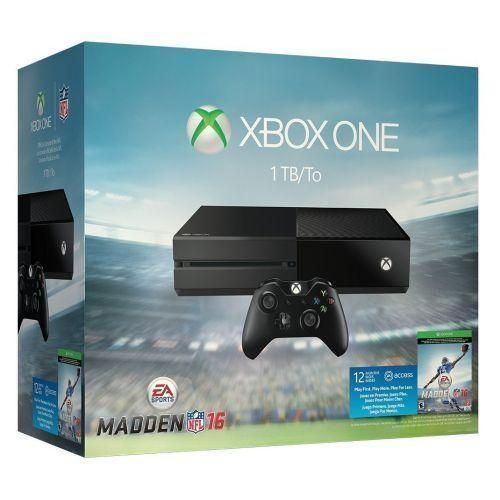 Xbox One Madden NFL 16 1TB Bundle