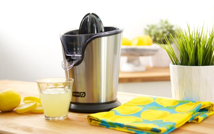Dash Stainless Steel Electric Citrus Juicer