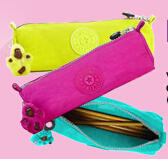 Free Pencil Case with purchase of $100+ or free Tote with purchase of $125+ @ Kipling USA
