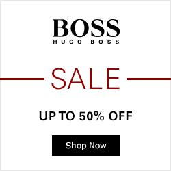 Up to 50% Off  Sale Event at Hugo Boss