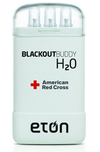 Eton American Red Cross Blackout Buddy H2O Water-Activated Emergency Light, Pack of 3