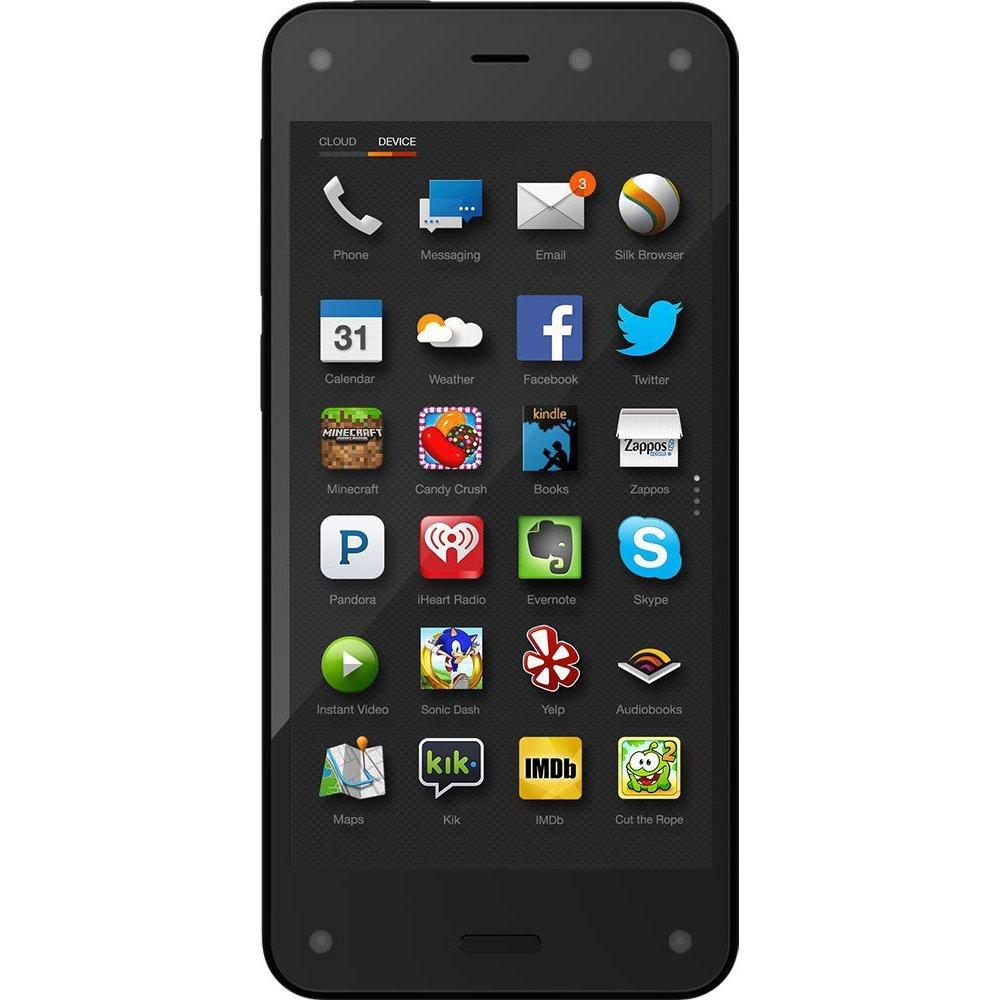 Amazon Fire Phone, 32GB + one full year of Prime