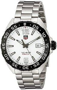 $749 TAG Heuer Men's Silver-Tone Stainless Steel Watch