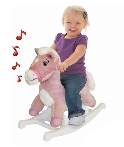 Rockin' Rider Rocking Pony-Pink @ Amazon
