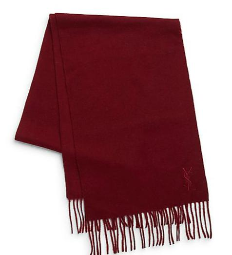 $69.99 Yves Saint Laurent Wool & Cashmere Scarf @ Saks Off 5th