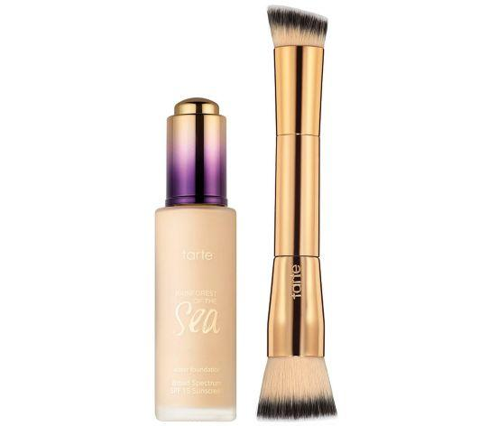 New Release Tarte launched new Rainforest of the Sea Water Foundation