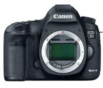$2149 After Rebate + Free Shipping Canon EOS 5D Mark III 22.3MP DSLR Camera Body + PRO-100 Printer, 64GB Card