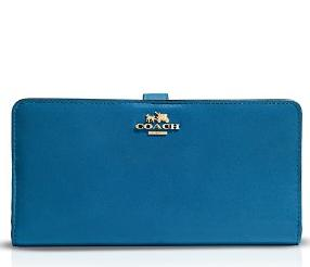 COACH Madison Skinny Wallet in Leather @ Bloomingdales