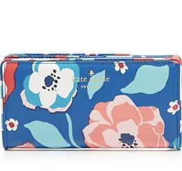 kate spade new york Wallet - Cedar Street Multi Floral Stacy Continental @ Bloomingdales