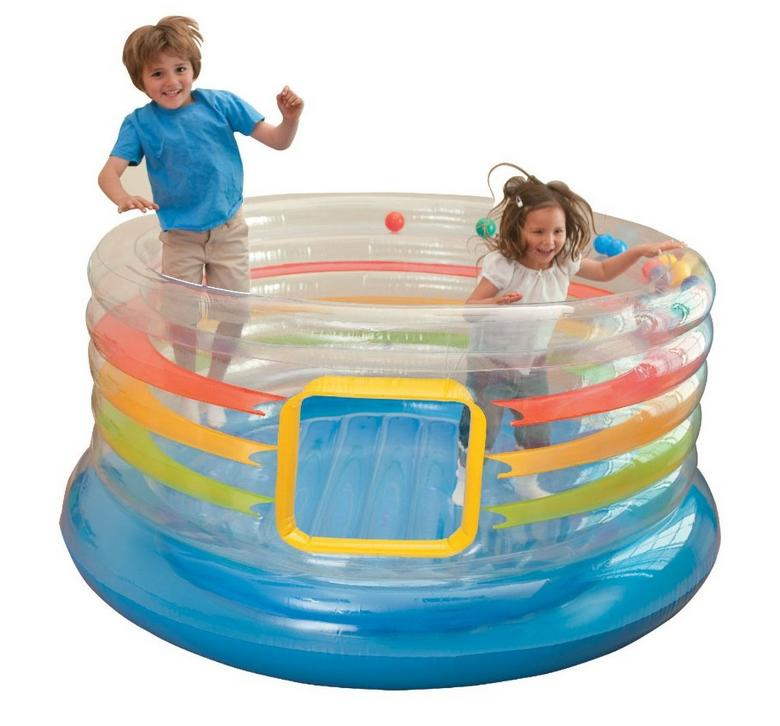 Intex Jump-O-Lene Transparent Ring Inflatable Bouncer 71
