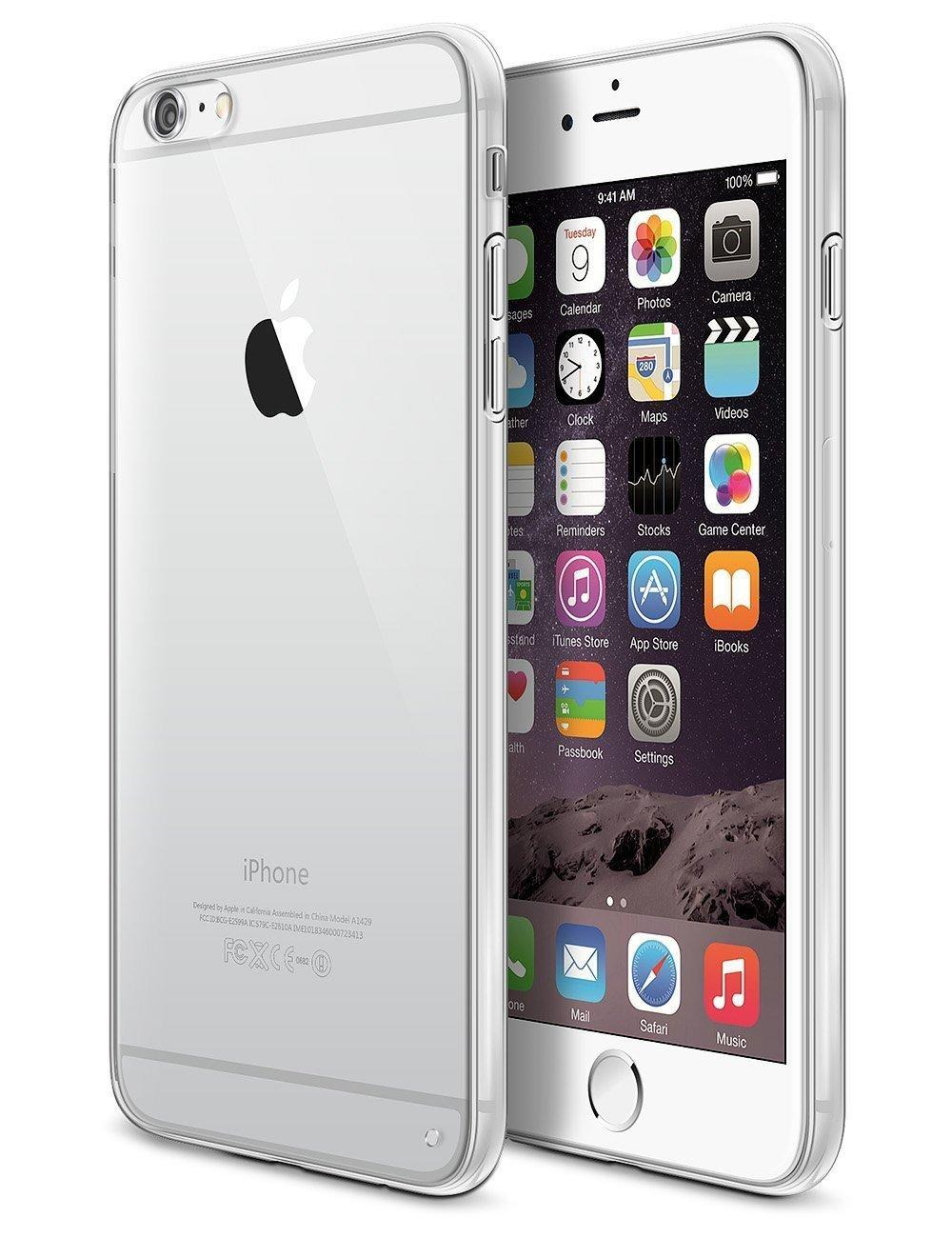 LoHi(TM) Apple iPhone 6 Plus Cover Slim Case Ultra Thin Protective Defender Crystal Clear Case