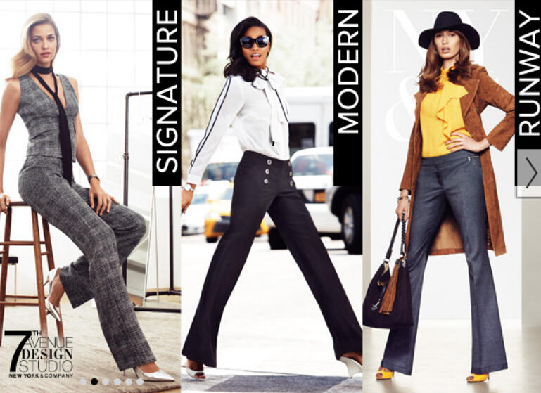 50% Off for Your Purchase of 4 Items + Free Shipping @ New York & Company