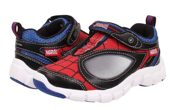 From 14.00 Stride Rite Spider-Man Spidey Reflex Light-Up Shoe