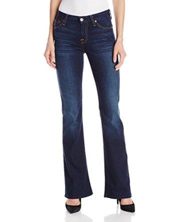 7 For All Mankind Women's Midrise Kimmie Bootcut Jean