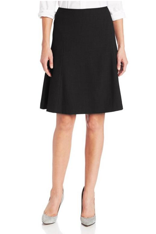 Calvin Klein Women's A-Line Suit Skirt