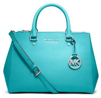 MICHAEL MICHAEL KORS  Sutton Medium Saffiano Leather Satchel @ Michael Kors