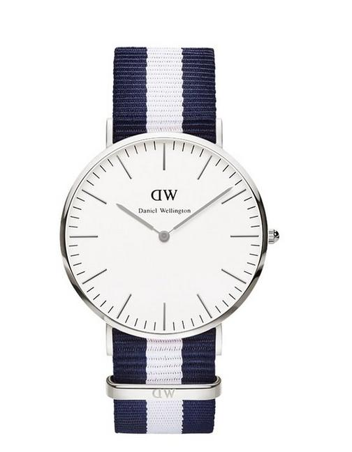 Daniel Wellington Men's 0204DW Glasgow Analog Display Quartz Two Tone Watch