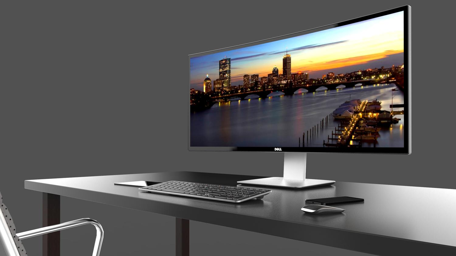 Lowest ever! Dell UltraSharp U3415W 34-Inch Curved LED-Lit Monitor