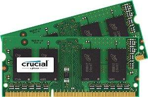 Crucial 16GB Kit (8GBx2) DDR3/DDR3L 1600 MHz (PC3-12800) Memory for Mac CT2K8G3S160BM / CT2C8G3S160BM