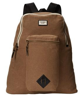Steve Madden Boxy Canvas Backpack