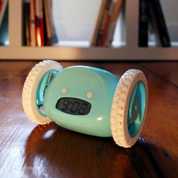 Recommended Amazon Item of the Week $39.99 Clocky Alarm Clock on Wheels