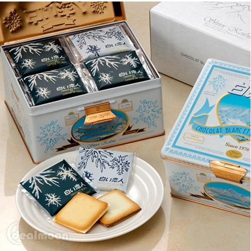 From $11.69 Shiroi Koibito White Lover Cookies @ Yamibuy