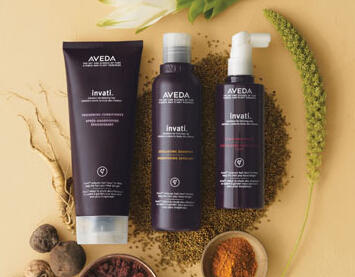Free 4-pcs Gifts + Free Shipping Aveda invati Hair Care Collection @Aveda