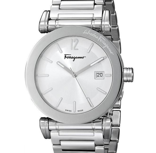 Salvatore Ferragamo Men's Quartz Silver Watch