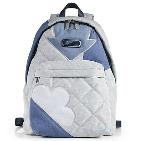 Marc by Marc Jacobs Crosby Quilted Denim Backpack @ Saks Fifth Avenue
