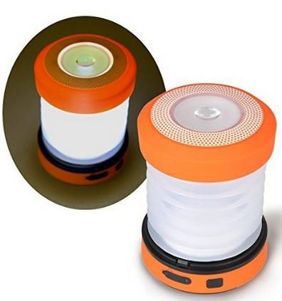 $16.99 Gonex Hand Crank Collapsible Outdoor LED Camping Lantern