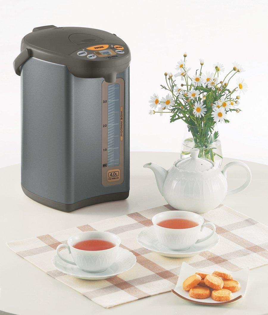 $90.39 Zojirushi CD-WBC40-TS Micom 4-Liter Water Boiler and Warmer