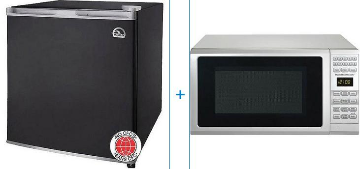 Igloo 1.6-cu ft Refrigerator with Hamilton Beach 0.7-cu ft Microwave Oven Value Bundle @ Walmart