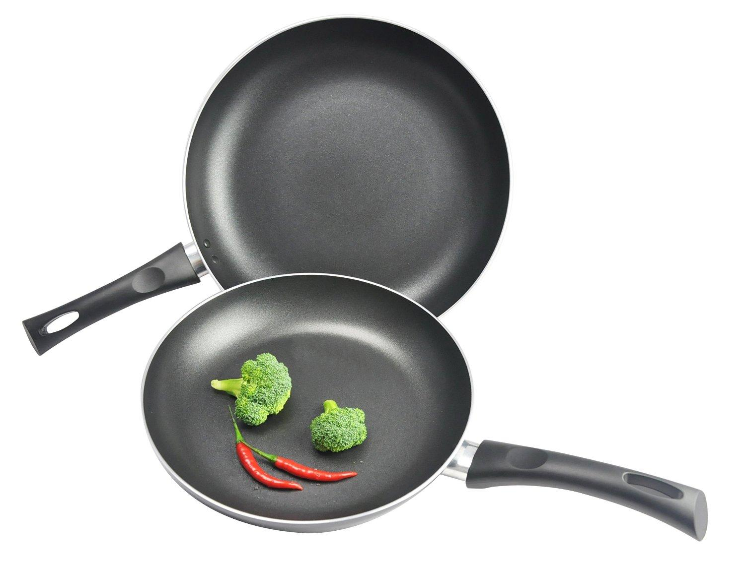$12.31 Kitchen Pro by WearEver Nonstick Fry Pans, 10 and 12-Inch, 2-Piece Set