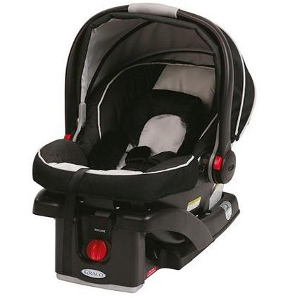 $89.99 Graco SnugRide Click Connect 35 Infant Car Seat w/ Base, Onyx @ Woot!
