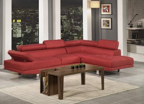 Lowest price! Poundex Bobkona Vegas Blended Linen 2-Piece Sectional Sofa