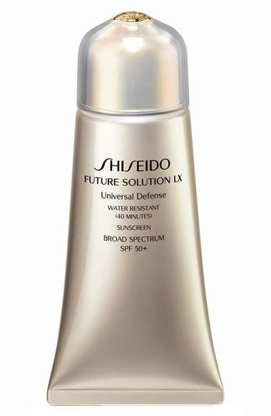New Release Shiseido launched New Future Solution LX Universal Defense