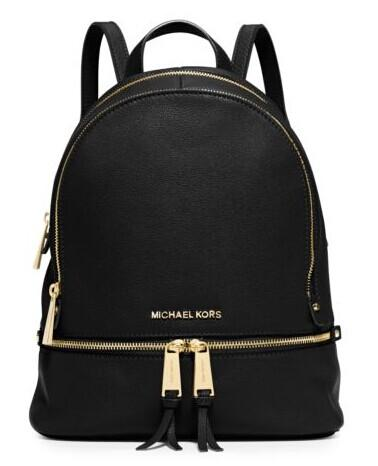 Rhea Small Leather Backpack @ Michael Kors