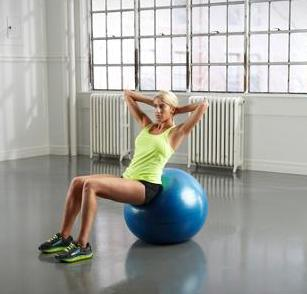 Gold's Gym Fitness Ball or Tone Fitness Fitness Ball@ Walmart