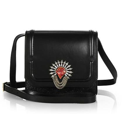DANNIJO Lypton Metallic Crossbody Bag