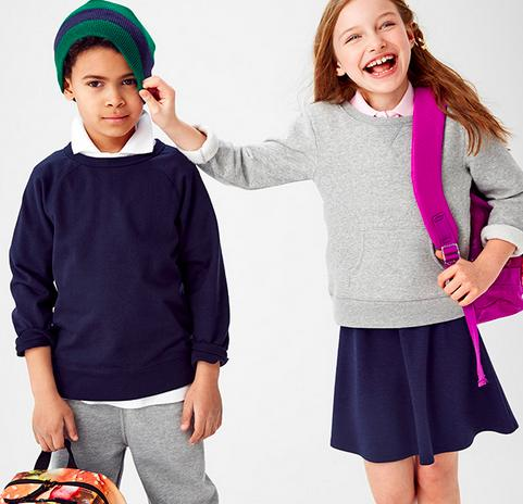 50% Off Uniforms & Backpacks @ Children's Place