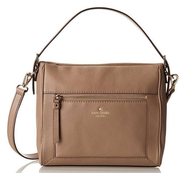 Kate Spade New York Cobble Hill Little Harris Satchel Warm Putty